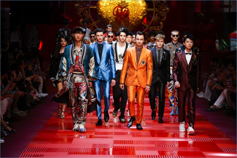 Dolce & Gabbana presents its spring-summer 2018 men's collection.