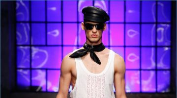 Dsquared2 presents its spring-summer 2018 men's collection during Milan Fashion Week.