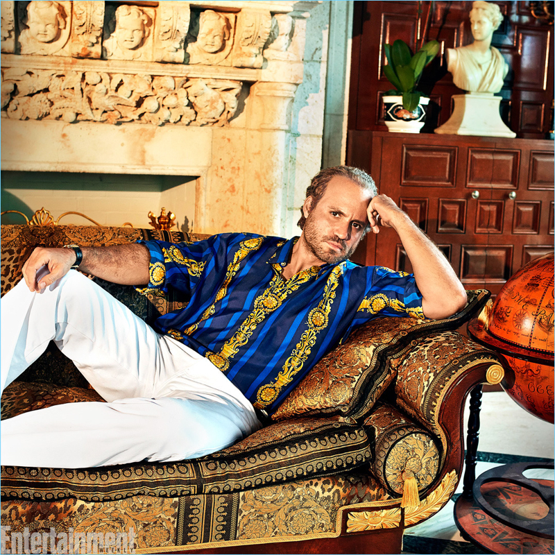 Edgar Ramirez as Gianni Versace in The Assassination of Gianni Versace: American Crime Story