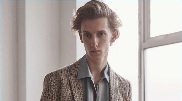 The Art of Summer: Emil Andersen in Fendi for L'Officiel Hommes Italia