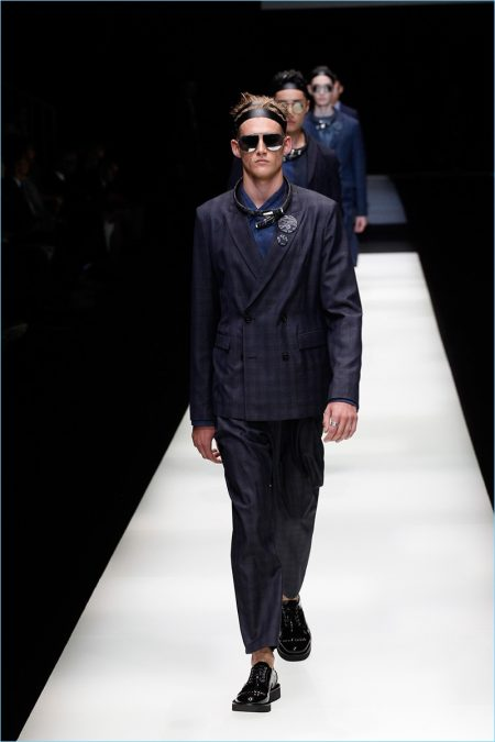 e148c08f92f Emporio Armani Looks to Japan for Spring  18 Inspiration