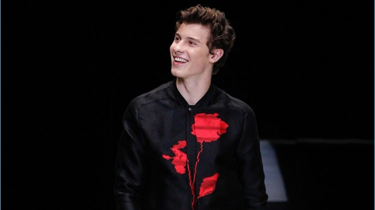 Emporio Armani Looks to Japan for Spring '18 Inspiration, Taps Shawn Mendes for Catwalk