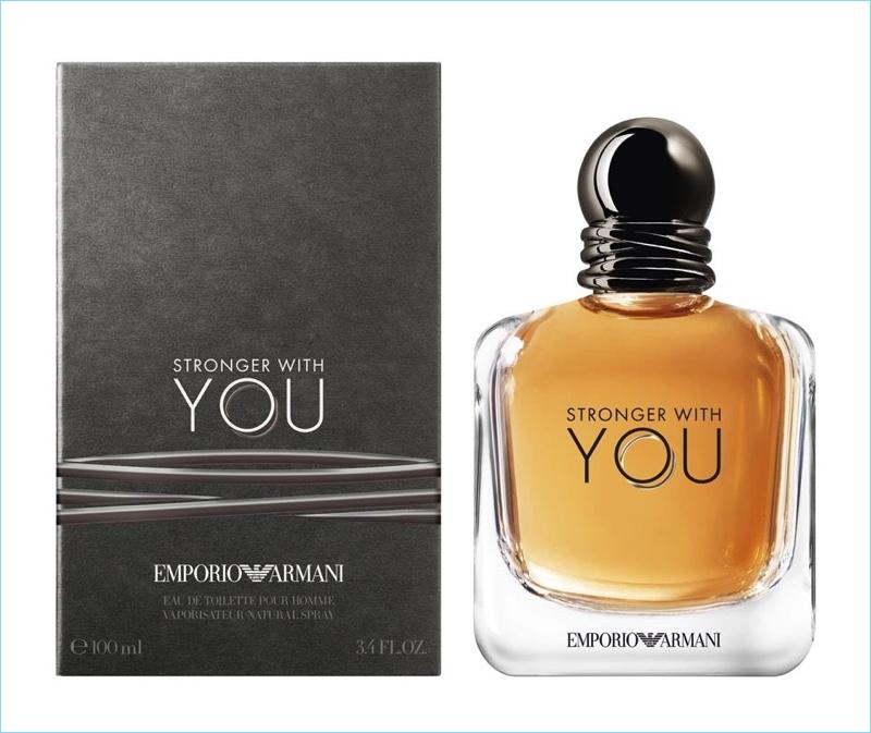 Emporio Armani Strong with You fragrance artwork
