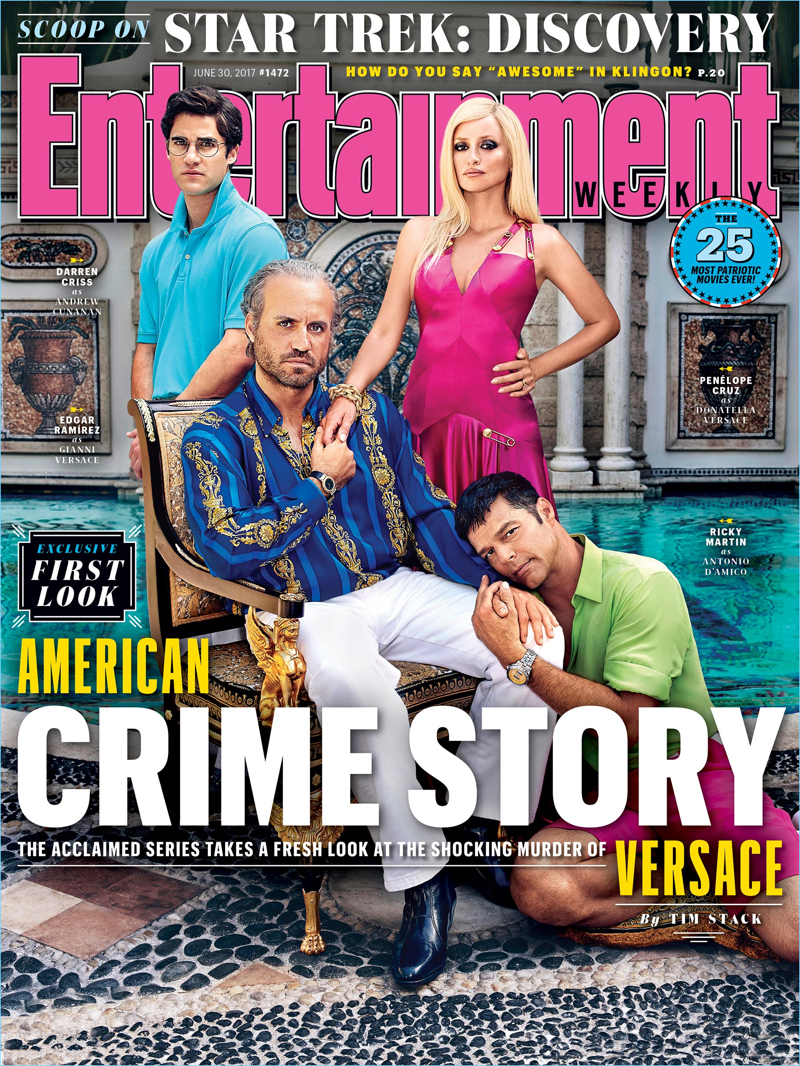 Entertainment Weekly The Assassination of Gianni Versace: American Crime Story Cover