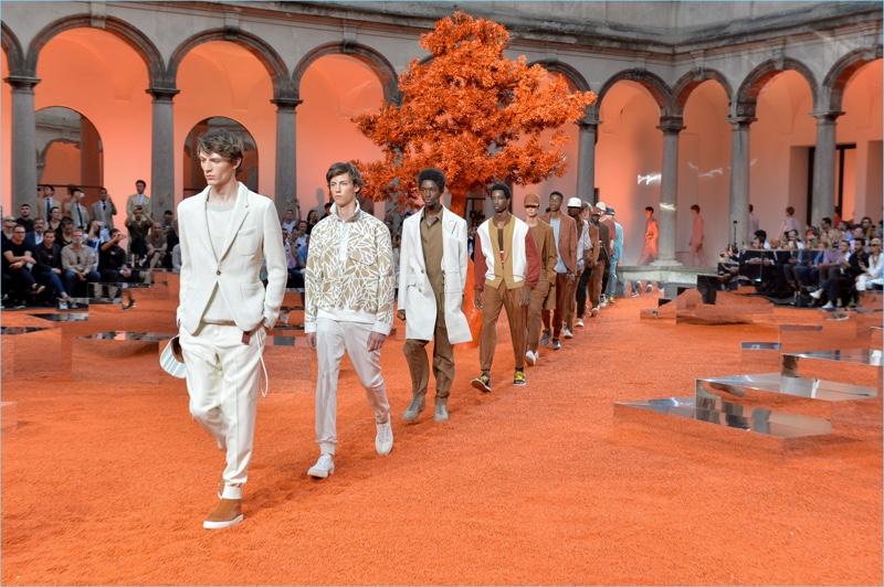 Ermenegildo Zegna Couture presents its spring-summer 2018 men's collection.
