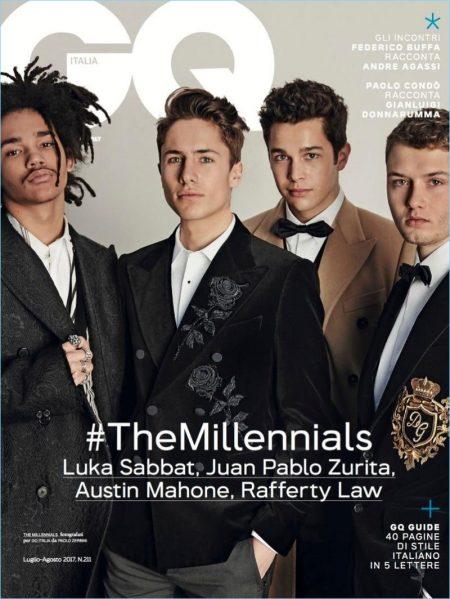 Millennial Generation: Rafferty Law, Austin Mahone + More in Dolce & Gabbana for GQ Italia