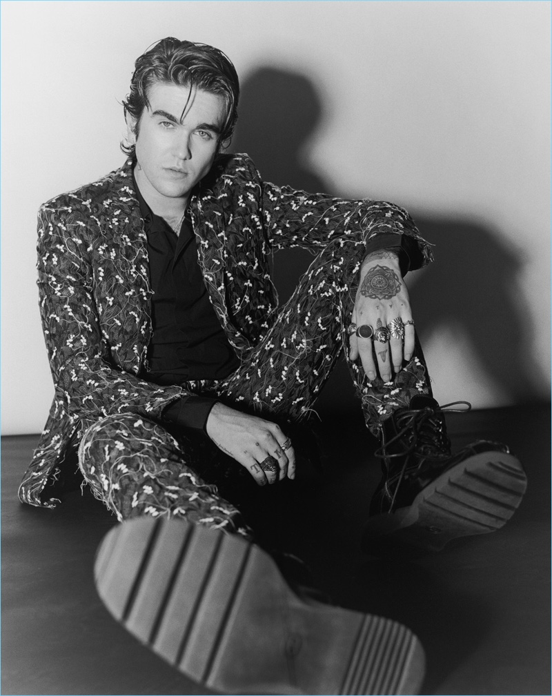 Gabriel-Kane Day-Lewis stars in a fashion editorial for SID magazine.