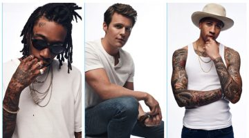 Gap enlists Wiz Khalifa, Jonathan Groff, and Miles Chamley-Watson for its 'Bridging the Gap' campaign.