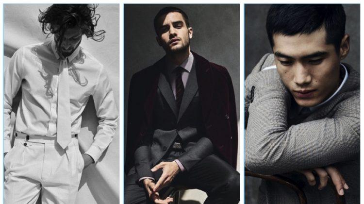 First Look: Giorgio Armani's Elegant Fall '17 Campaign