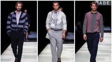 Giorgio Armani presents its spring-summer 2018 men's collection.
