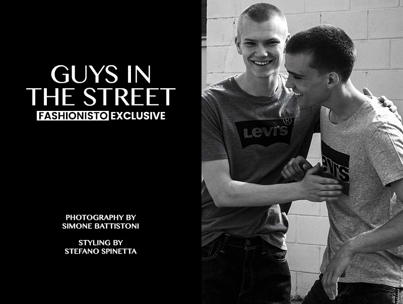 Fashionisto Exclusive: Marc Lüloh and Jordy Gerritsma photographed by Simone Battistoni