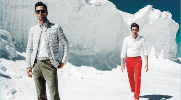 Christian Santamaria and Werner Schreyer come together for HILTL's spring-summer 2018 efforts.