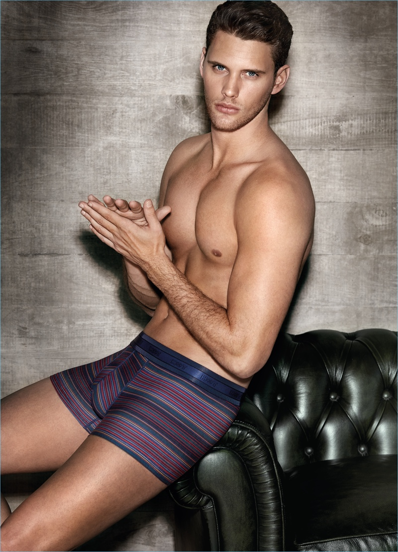 Joan Pedrola Fronts HOT Impetus Fall '17 Underwear Campaign