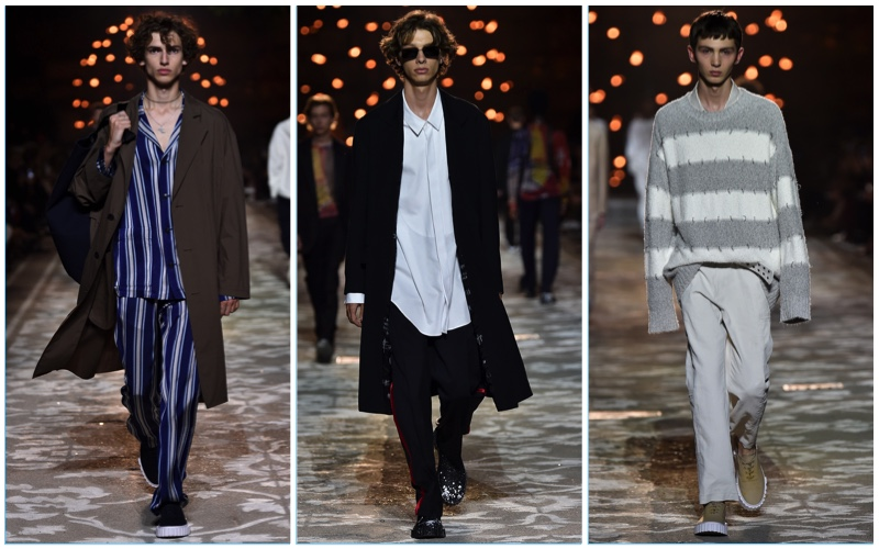 53c5793645452 HUGO presents its spring-summer 2018 men s collection during Pitti Uomo in  Florence.