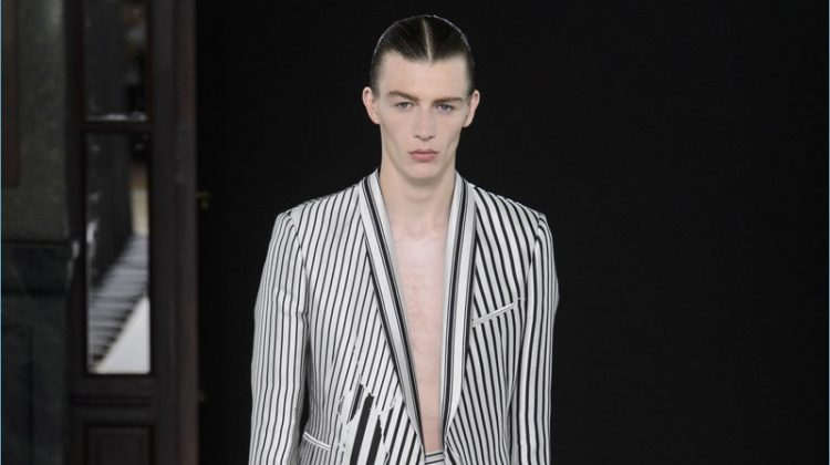 Haider Ackermann Walks a Fine Edge with Spring '18 Collection