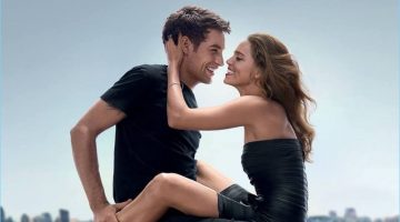 James Jagger and Matilda Lutz come together for Emporio Armani's 2017 fragrance campaign.