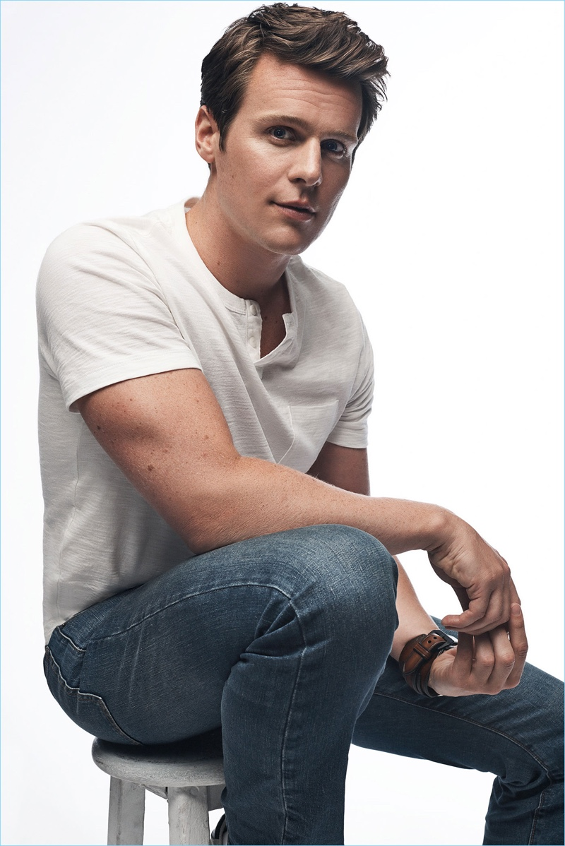 Actor Jonathan Groff stars in Gap's 'Bridging the Gap' campaign.