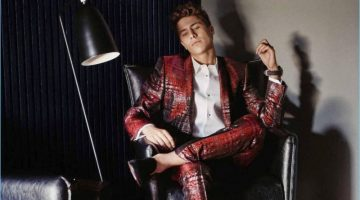 Juan Pablo Zurita Dons Dolce & Gabbana for Life and Style México
