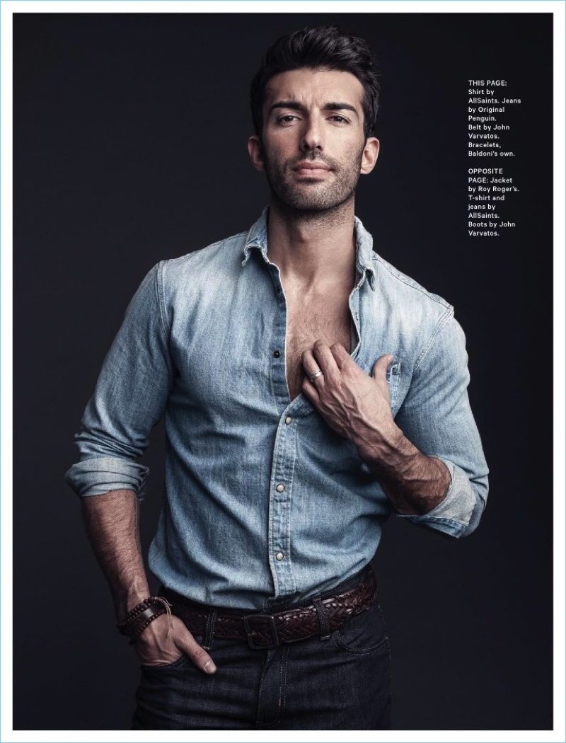 Father Figure: Justin Baldoni Talks Personal Growth with ...  Father Figure: ...