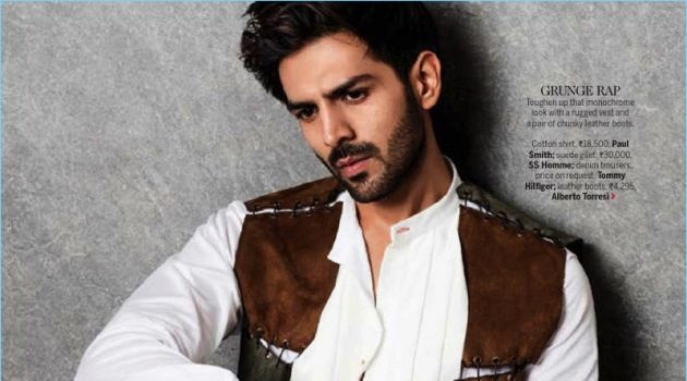 One Man Army: Kartik Aaryan Sports Military-Inspired Looks for Femina Shoot