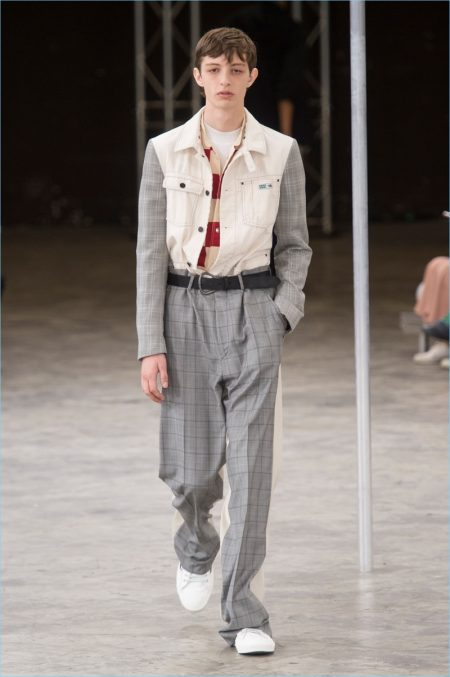 Lanvin Turns Out Casual Workwear for Spring '18 Collection