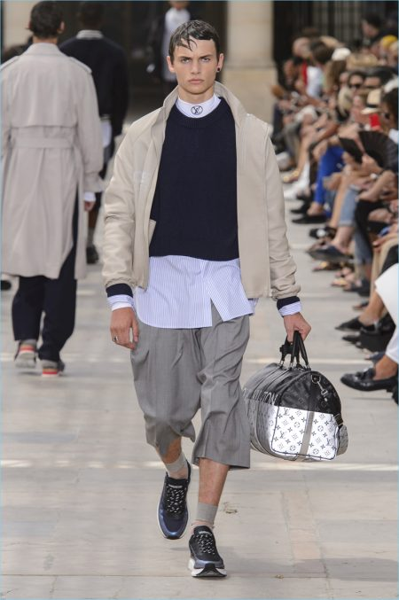 Louis Vuitton Delivers Tropical Holiday for Spring '18 Collection