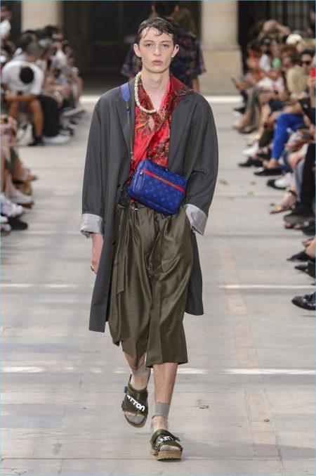 Louis Vuitton Spring/Summer 2018 Runway Show during Paris Fashion Week