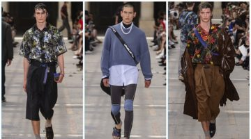 Louis Vuitton presents its spring-summer 2018 men's collection during Paris Fashion Week.