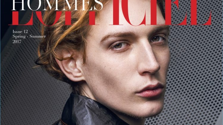 Modern Cool: Lucas Dambros Stars in L'Officiel Hommes Middle East Cover Story