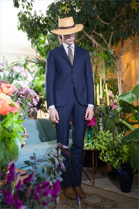 MP Massimo Piombo Brings a Colorful Dandy Flair to Spring '18 Collection
