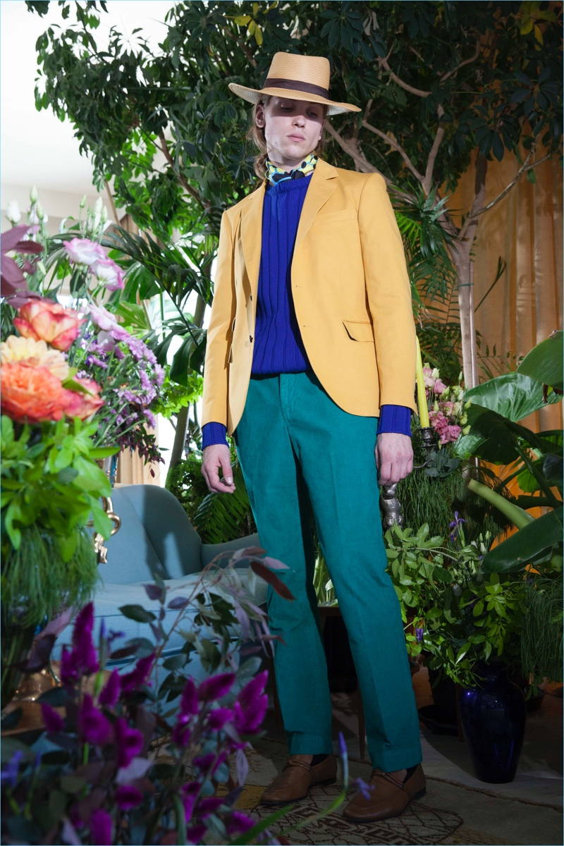 MP Massimo Piombo unveils its spring-summer 2018 men's collection.