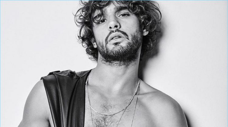Marlon Teixeira Stars in Black & White Campaign for Torinno