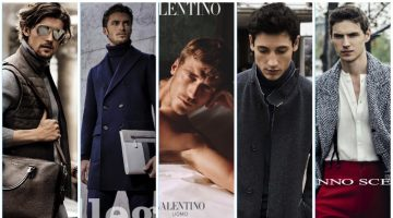 Discover the latest men's advertising from Michael Kors, Allegri, Valentino, Bugatti, and Ermanno Scervino.