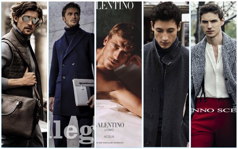 Take 5 Ads: Valentino Uomo, Ermanno Scervino + More