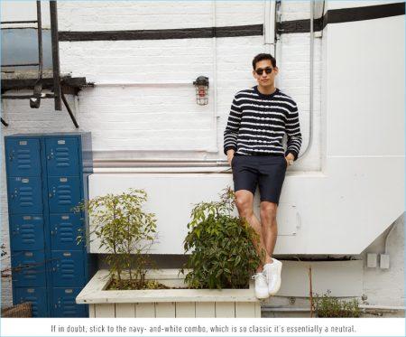 Line Up: Jae Yoo Rocks Striped Fashions for East Dane