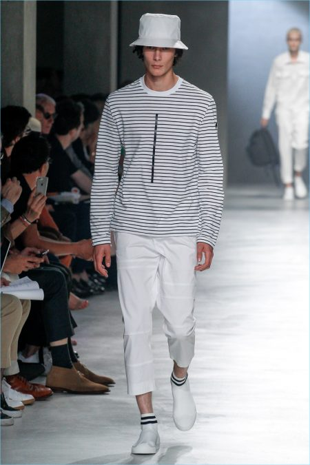 Neil Barrett Samples Minimal Style for Spring  18 Collection f9b2515c74c