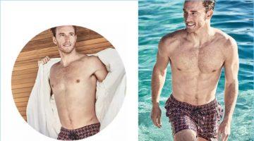 Poolside Bliss: Rodrigo Calazans Rocks Swimwear from Neiman Marcus