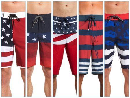 Celebrate July 4th with Patriotic Swimwear