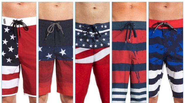 Celebrate July 4th with Patriotic Swimwear