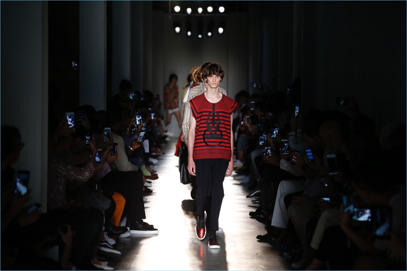 Ports 1961 presents its spring-summer 2018 men's collection during Milan Fashion Week.
