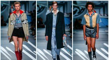 Prada presents its spring-summer 2018 men's collection during Milan Fashion Week.