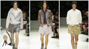 Salvatore Ferragamo presents its spring-summer 2018 men's collection during Milan Fashion Week.