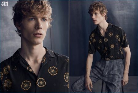 Project Osaka: Sven de Vries Sports Asian-Inspired Styles from Simons