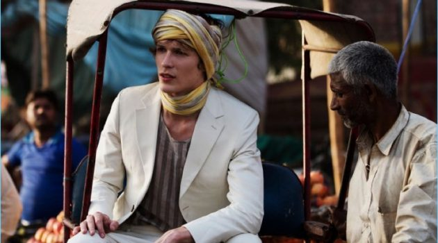 Sven de Vries Travels to India for Elle Men Thailand Story