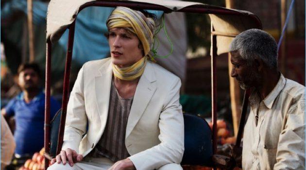 Sven de Vries Travels to India for Elle Men Thailand Story