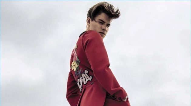 Good Genes: Tyler Clinton Stars in L'Uomo Vogue Photo Shoot