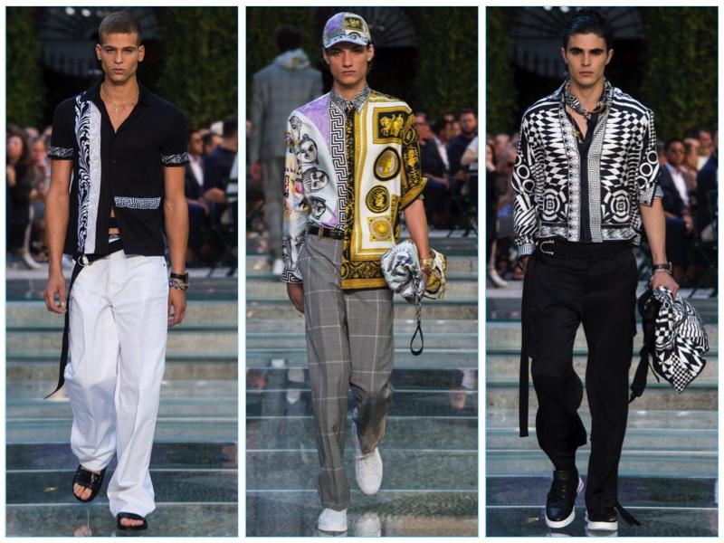 Versace Spring Summer 2018 Men S Collection