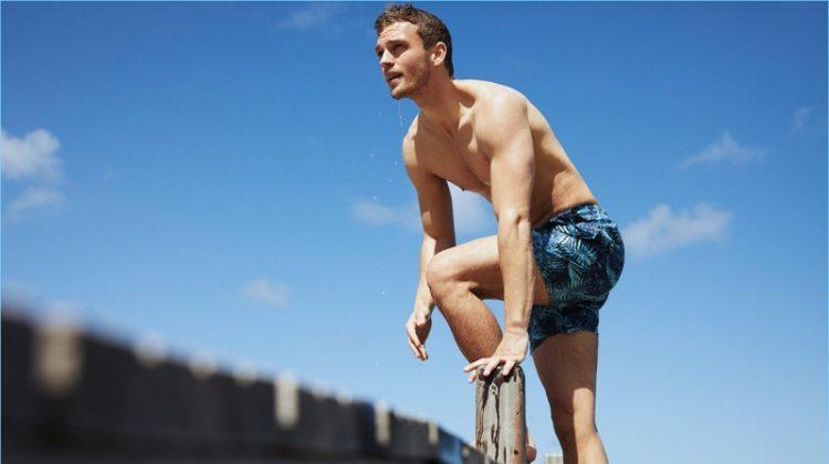 Benjamin Eidem is Beach Ready with Vilebrequin