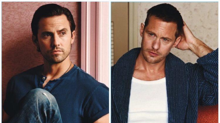 Milo Ventimiglia, Alexander Skarsgård + More TV Stars Pose for W Magazine Shoot