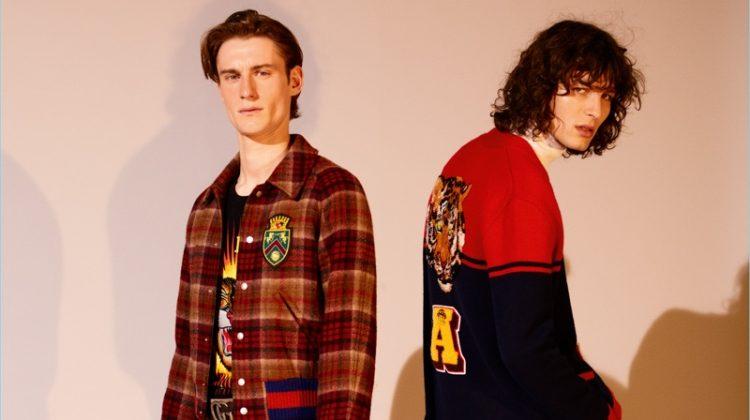 Ákos Sógor & Matt Doran Model Fall '17 Fashions for APROPOS' Journal